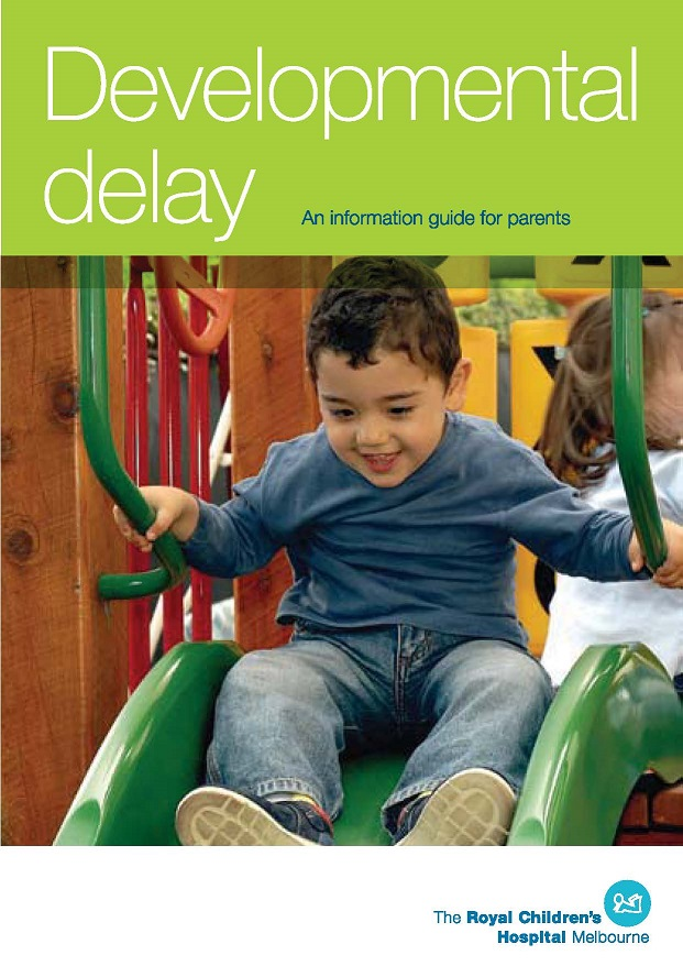 Developmental delay a guide for parents RCH_single page
