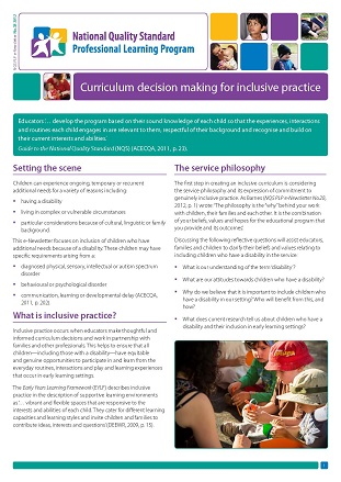 NQS_PLP_E-Newsletter_No38_Curriculum decision making for inclusive practice_Page_1