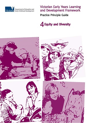 VEYLDF practiceprinciple guide 4 Equity and diversity_Page_1